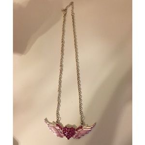 Jewelry - Heart Angel Wing Necklace